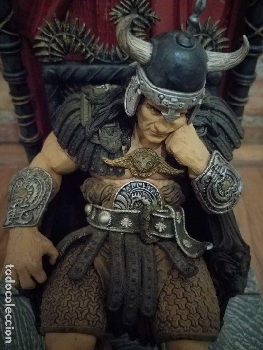 Figuras y Muñecos Mcfarlane: FIGURA CONAN REY KING MCFARLANE IMPECABLE - Foto 2 - 239739385