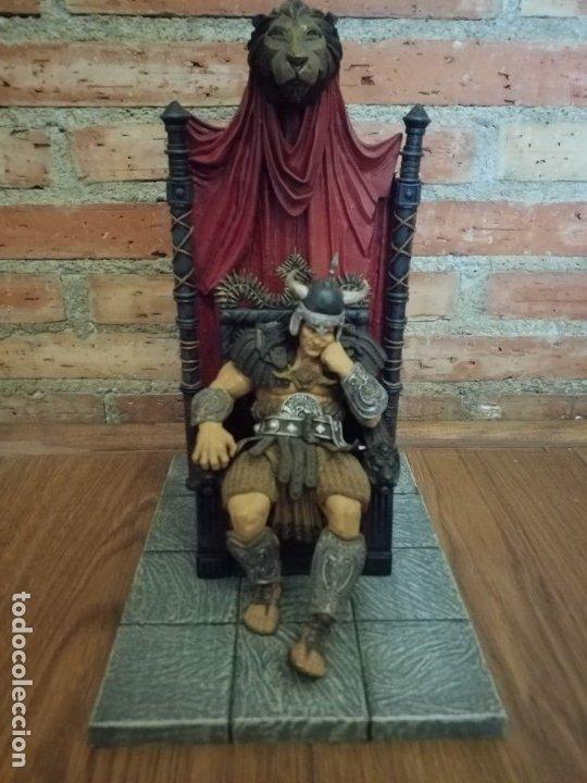 Figuras y Muñecos Mcfarlane: FIGURA CONAN REY KING MCFARLANE IMPECABLE - Foto 3 - 239739385