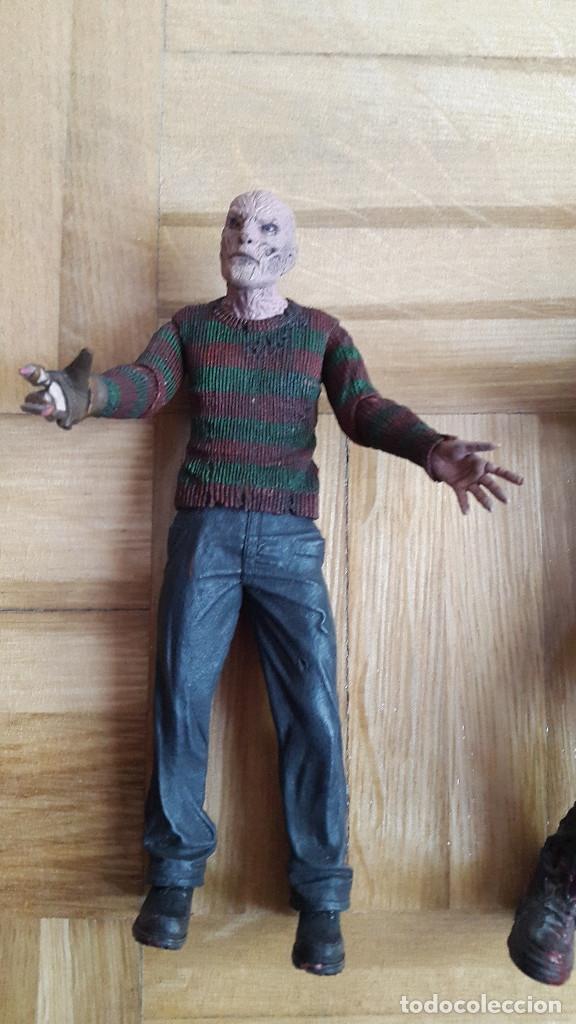 Figuras y Muñecos Mcfarlane: lote 2 figuras freddy krueger - Jason Voorhees - neca y mcfarlane toys ver fotos y leer descripcion - Foto 3 - 176063384