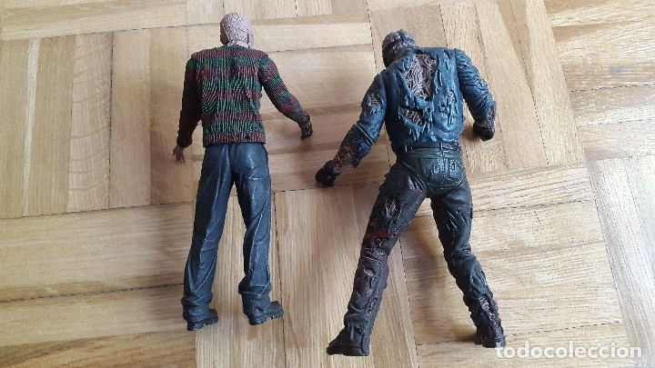 Figuras y Muñecos Mcfarlane: lote 2 figuras freddy krueger - Jason Voorhees - neca y mcfarlane toys ver fotos y leer descripcion - Foto 4 - 176063384