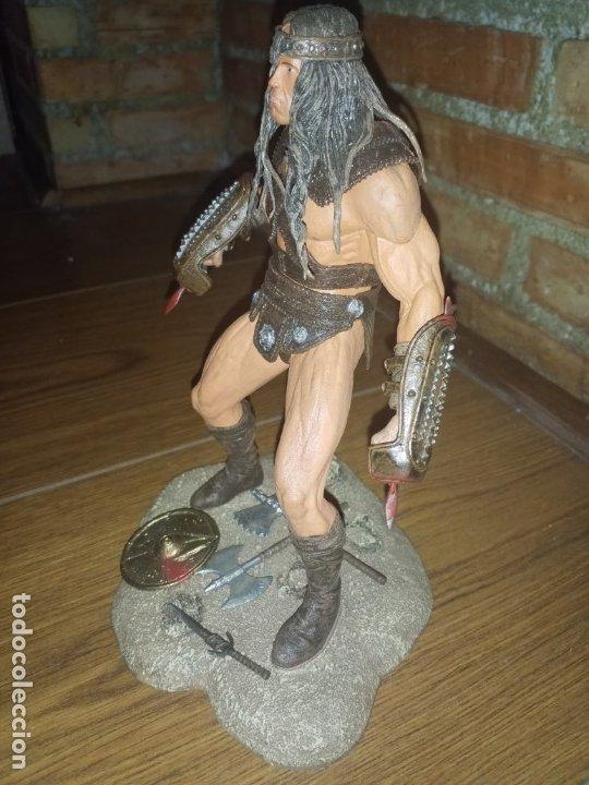 Figuras y Muñecos Mcfarlane: FIGURA CONAN EL BARBARO ARNOLD NECA IMPECABLE - Foto 3 - 176121685