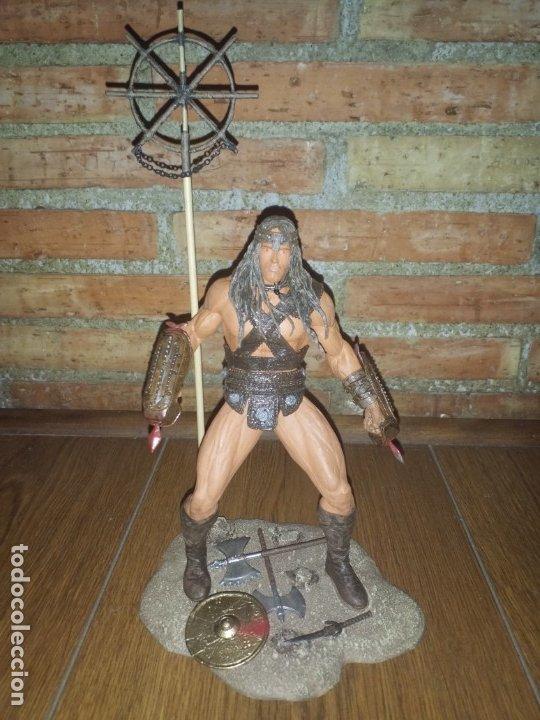 Figuras y Muñecos Mcfarlane: FIGURA CONAN EL BARBARO ARNOLD NECA IMPECABLE - Foto 10 - 176121685