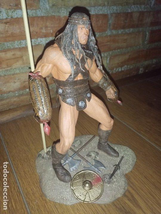Figuras y Muñecos Mcfarlane: FIGURA CONAN EL BARBARO ARNOLD NECA IMPECABLE - Foto 12 - 176121685