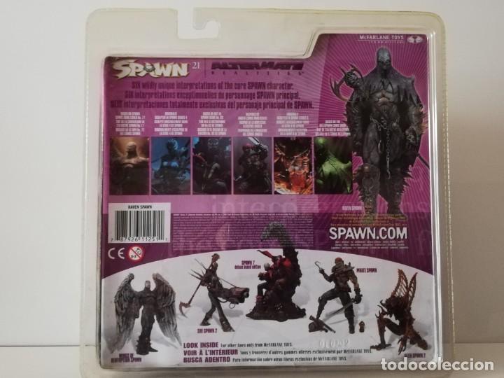 Figuras y Muñecos Mcfarlane: McFarlane Raven Spawn Figura Año 2002, Rara, nueva, sin abrir - Foto 2 - 183906517