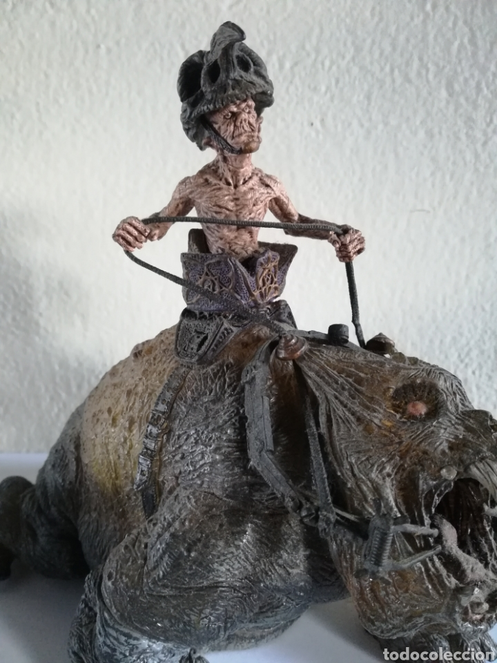 Figuras y Muñecos Mcfarlane: McFarlane Twisted Land of Oz The Wizard Horror figure Spawn Monster Comic - Toto - año 2003 - Foto 2 - 186167496