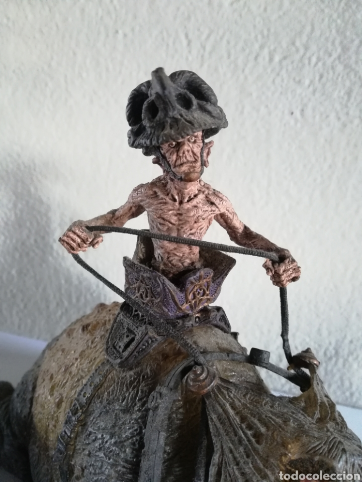 Figuras y Muñecos Mcfarlane: McFarlane Twisted Land of Oz The Wizard Horror figure Spawn Monster Comic - Toto - año 2003 - Foto 3 - 186167496