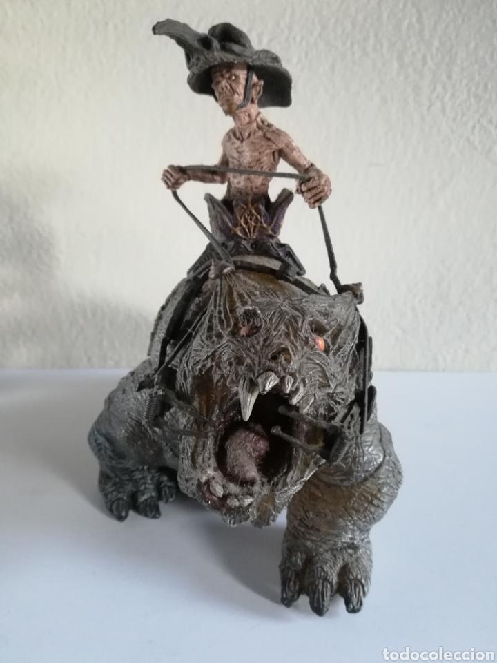 Figuras y Muñecos Mcfarlane: McFarlane Twisted Land of Oz The Wizard Horror figure Spawn Monster Comic - Toto - año 2003 - Foto 9 - 186167496