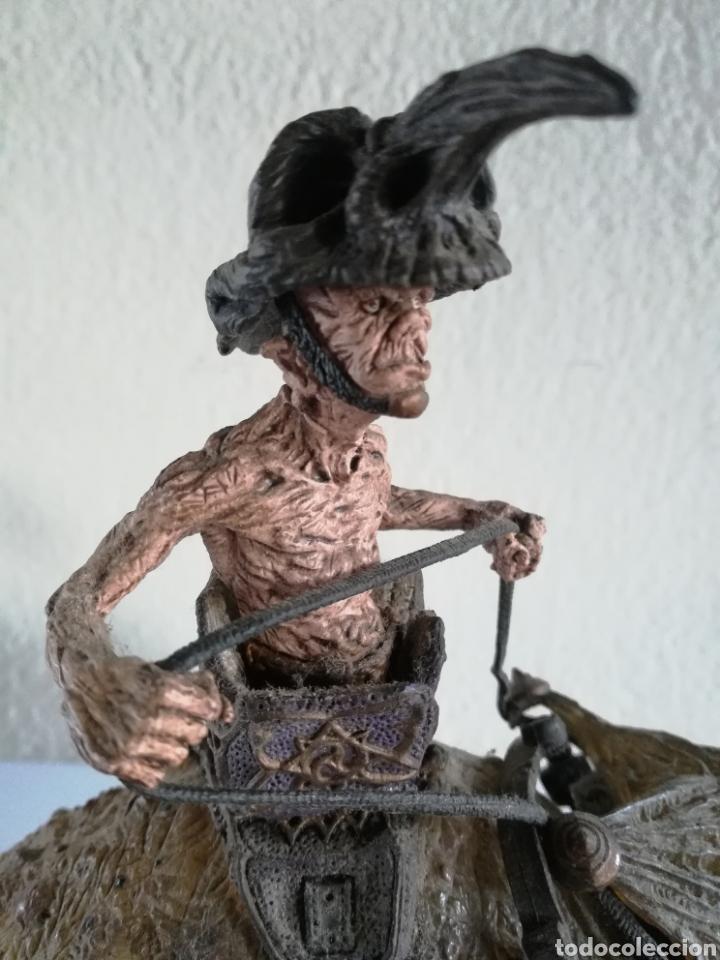 Figuras y Muñecos Mcfarlane: McFarlane Twisted Land of Oz The Wizard Horror figure Spawn Monster Comic - Toto - año 2003 - Foto 16 - 186167496