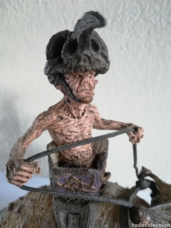 Figuras y Muñecos Mcfarlane: McFarlane Twisted Land of Oz The Wizard Horror figure Spawn Monster Comic - Toto - año 2003 - Foto 17 - 186167496