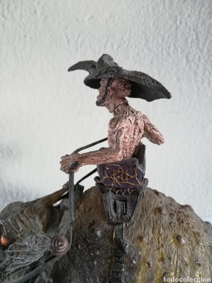 Figuras y Muñecos Mcfarlane: McFarlane Twisted Land of Oz The Wizard Horror figure Spawn Monster Comic - Toto - año 2003 - Foto 28 - 186167496