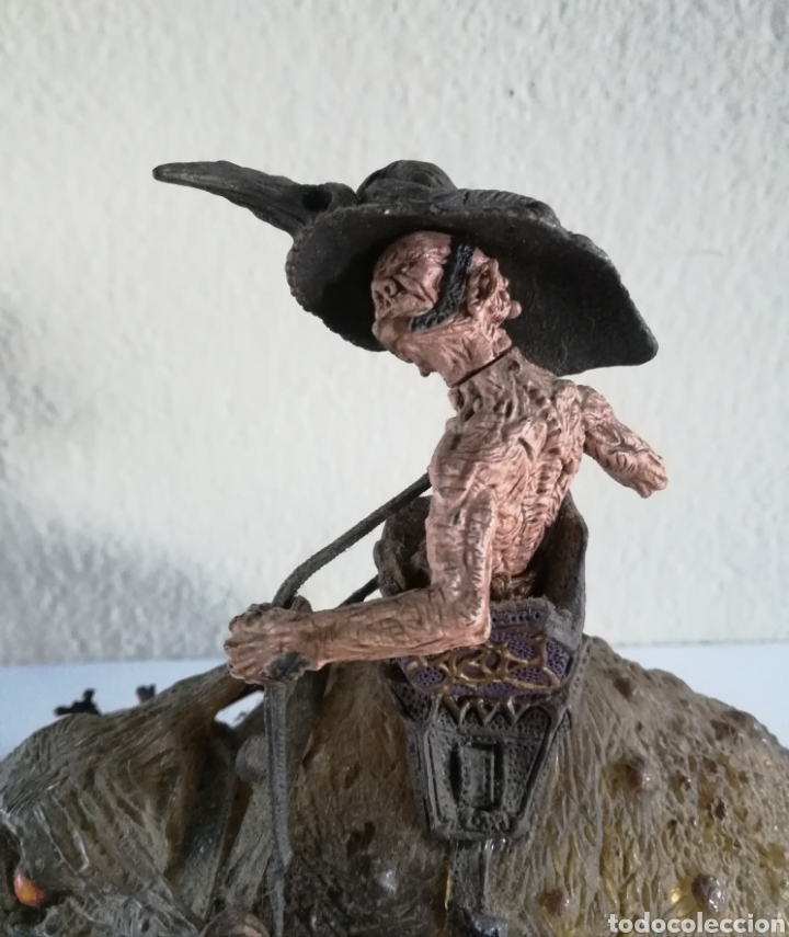 Figuras y Muñecos Mcfarlane: McFarlane Twisted Land of Oz The Wizard Horror figure Spawn Monster Comic - Toto - año 2003 - Foto 29 - 186167496