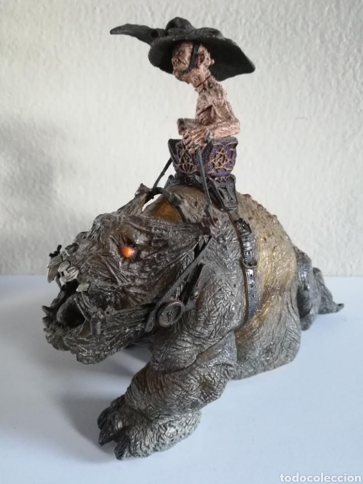 Figuras y Muñecos Mcfarlane: McFarlane Twisted Land of Oz The Wizard Horror figure Spawn Monster Comic - Toto - año 2003 - Foto 32 - 186167496