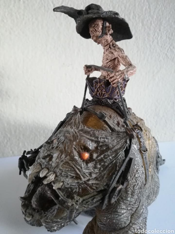 Figuras y Muñecos Mcfarlane: McFarlane Twisted Land of Oz The Wizard Horror figure Spawn Monster Comic - Toto - año 2003 - Foto 34 - 186167496