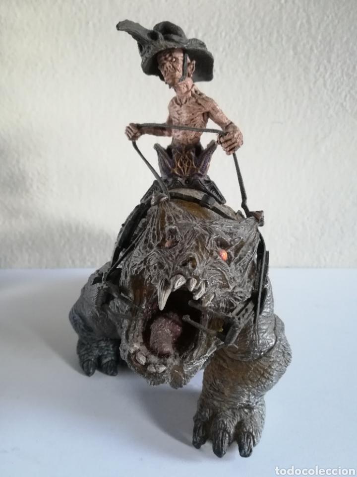 Figuras y Muñecos Mcfarlane: McFarlane Twisted Land of Oz The Wizard Horror figure Spawn Monster Comic - Toto - año 2003 - Foto 37 - 186167496