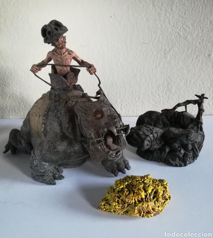 Figuras y Muñecos Mcfarlane: McFarlane Twisted Land of Oz The Wizard Horror figure Spawn Monster Comic - Toto - año 2003 - Foto 59 - 186167496
