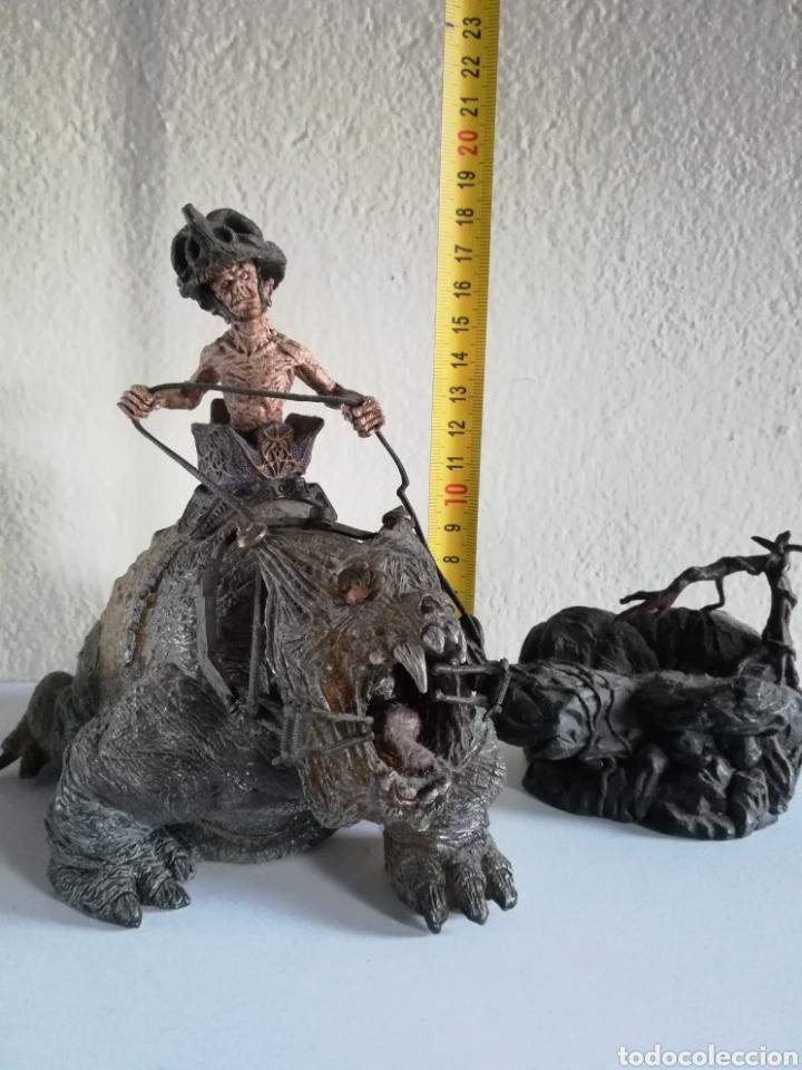 Figuras y Muñecos Mcfarlane: McFarlane Twisted Land of Oz The Wizard Horror figure Spawn Monster Comic - Toto - año 2003 - Foto 53 - 186167496