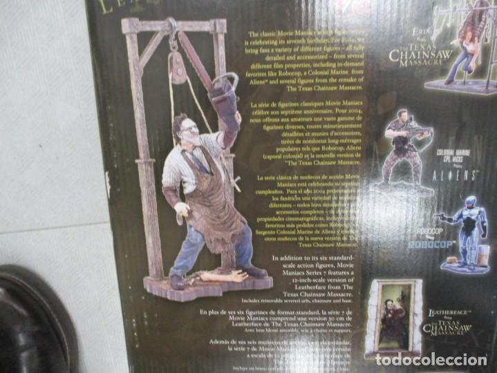 Figuras y Muñecos Mcfarlane: FIGURA LEATHER FACE - MATANZA DE TEXAS - 24 CM - SIN ABRIR - DESCATALOGADA - 24 CM - MCFARLANE - Foto 4 - 191618756