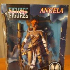 Figuras y Muñecos Mcfarlane: FIGURA DE SPAWN. ANGELA 13 PULGADAS, SUPERSIZE . SERIES MCFARLANE TOYS. Lote 196377607