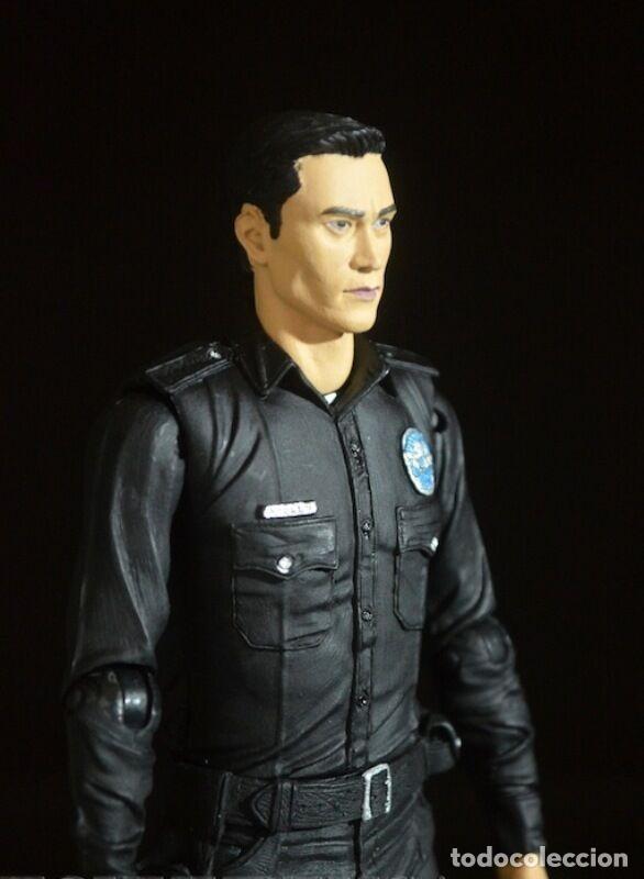 Figuras y Muñecos Mcfarlane: TERMINATOR GENESYS T-1000 POLICE DISGUISE FIGURA 18CM NECA * Official * EN BLISTER SELLADO - Foto 5 - 203176163