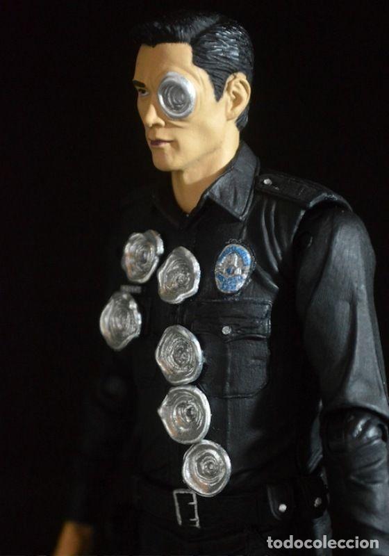 Figuras y Muñecos Mcfarlane: TERMINATOR GENESYS T-1000 POLICE DISGUISE FIGURA 18CM NECA * Official * EN BLISTER SELLADO - Foto 6 - 203176163