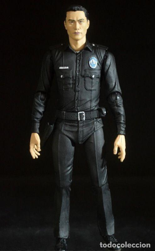 Figuras y Muñecos Mcfarlane: TERMINATOR GENESYS T-1000 POLICE DISGUISE FIGURA 18CM NECA * Official * EN BLISTER SELLADO - Foto 8 - 203176163