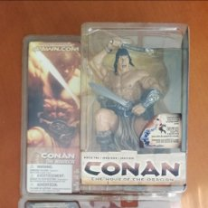 Figuras y Muñecos Mcfarlane: MCFARLANE CONAN WARRIOR Y MAN-EATING HAUNTER. Lote 205649525