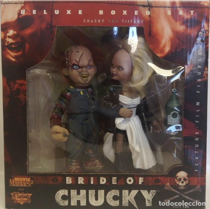 DELUXE BOXED SET CHUCKY AND TIFANY - BRIDE OF CHUCKY - *** MCFARLANE TOYS *** (Juguetes - Figuras de Acción - Mcfarlane)