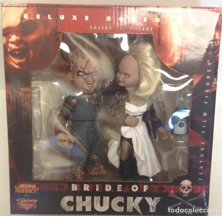 Figuras y Muñecos Mcfarlane: DELUXE BOXED SET CHUCKY AND TIFANY - BRIDE OF CHUCKY - *** MCFARLANE TOYS *** - Foto 2 - 209994628