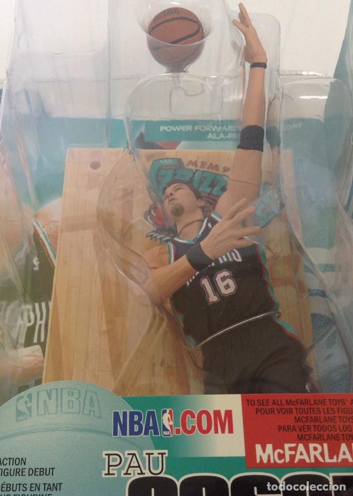 Figuras y Muñecos Mcfarlane: FIGURA PAU GASOL - EQUIPO DE BALONCESTO NBA MEMPHIS *** MCFARLANE*** NUEVO EN BLISTER - Foto 2 - 210832689