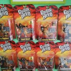Figuras e Bonecos Mcfarlane: LOTE 8 BLISTERS FIGURAS GUITAR HERO MCFARLANE. Lote 214361846