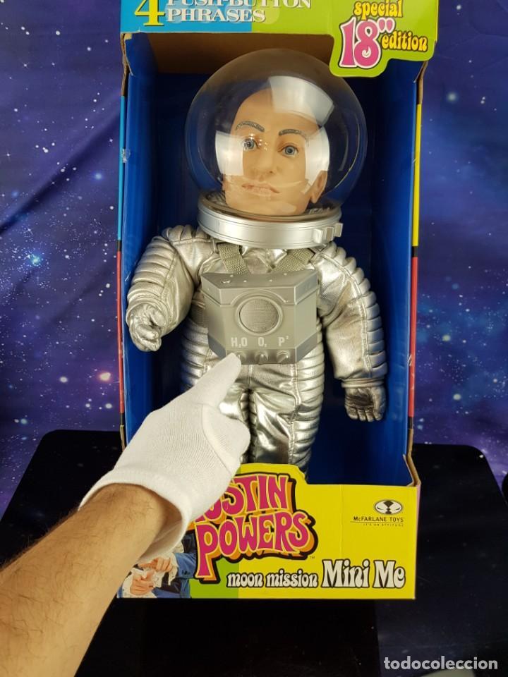 "Figuras y Muñecos Mcfarlane: FANTASTICA FIGURA DE AUSTIN POWERS ¡¡¡GIGANTE!!! MOON MISION MINI ME - MC FARLANE TOYS SPECIAL 18"" - Foto 2 - 230615130"
