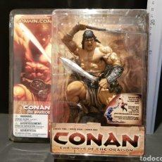 Figuras y Muñecos Mcfarlane: CONAN THE HOUR OF THE DRAGON LA HORA DEL DRAGÓN MCFARLANE SERIE DOS SPAWN. Lote 244655130