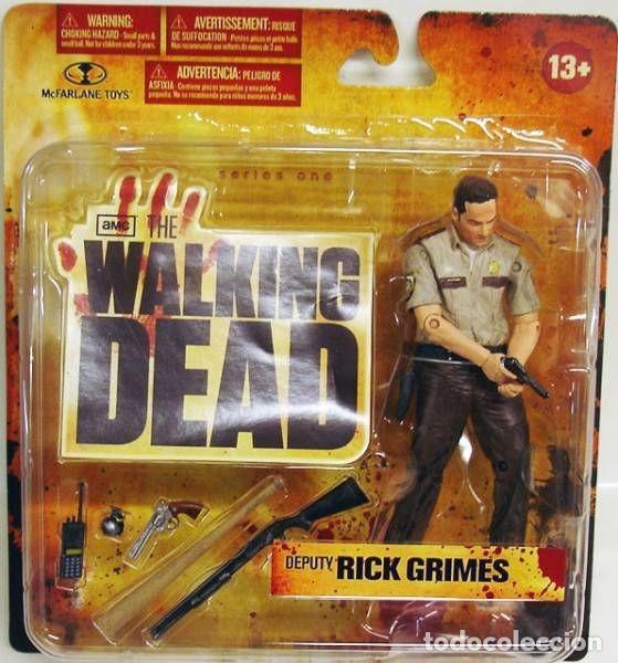 THE WALKING DEAD - RICK GRIMES SERIE 1 AÑO 2010 (Juguetes - Figuras de Acción - Mcfarlane)