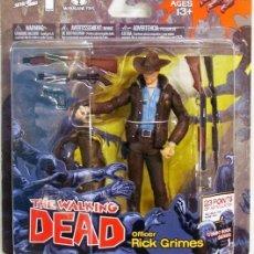Figuras y Muñecos Mcfarlane: THE WALKING DEAD - RICK GRIMES COMIC BOOKS SERIES 1 MC FARLANE TOYS. Lote 252494070