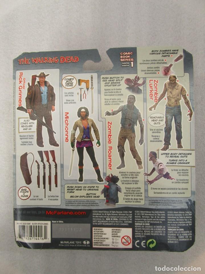 Figuras y Muñecos Mcfarlane: THE WALKING DEAD - Rick grimes comic books series 1 Mc Farlane toys - Foto 2 - 252494070