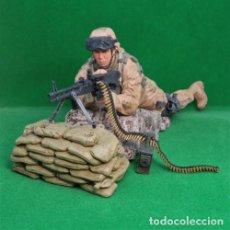 Figuras y Muñecos Mcfarlane: MCFARLANE MILITARY SERIES 3: ARMY M60 GUNNER FIGURE 15 CMS. A ESTRENAR. Lote 264258936