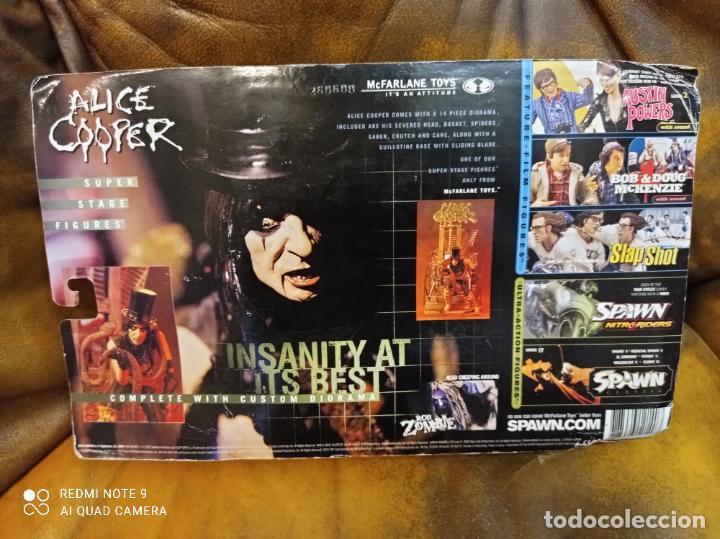 Figuras y Muñecos Mcfarlane: Alice Cooper. Insanity at its best. Mcfarlane Toys. Nuevo, sin abrir.Farlane - Foto 5 - 288399223