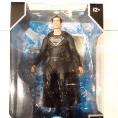 Figuras y Muñecos Mcfarlane: FIGURA SUPERMAN JUSTICE LEAGUE MULTIVERSE (BLACK SUIT) MCFARLANE TOYS. Lote 288910028