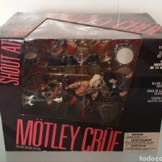 Figuras y Muñecos Mcfarlane: BLISTER CON FIGURAS DE MOTLEY CRUE SHOUT AT THE DEVIL BOX DELUXE MCFARLANE TOYS 2004. Lote 291208483
