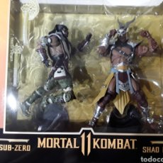 Figuras y Muñecos Mcfarlane: PACK 2 FIGURAS SUB-ZERO Y SHAO KAHN MORTAL KOMBAT MCFARLANE TOYS. Lote 291855403