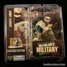Figuras y Muñecos Mcfarlane: MCFARLANE MILITARY SERIES 1 REDEPLOYED ARMY RANGER 12 CTS. EXCELENTE ESTADO. Lote 295329538