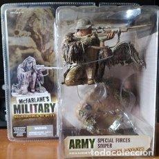 Figuras y Muñecos Mcfarlane: MCFARLANE 2ND TOUR OF DUTY - ARMY SPECIAL FORCES SNIPER (CAUCASIAN) 11X13X9 CTS.EXCELENTE ESTADO. Lote 295332978