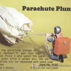 Figuras y Muñecos Mego: ACTION JACKSON - MEGO PARACAIDAS MAGIC CARS. Lote 9692920