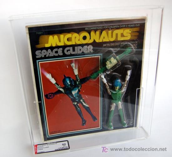 MEGO MICRONAUTS - SPACE GLIDER. 1976. AUTENTIFICADO, NUMERADO Y PRECINTADO POR AFA (Juguetes - Figuras de Acción - Mego)