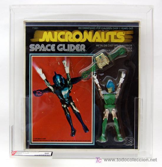 Figuras y Muñecos Mego: Mego Micronauts - Space Glider. 1976. Autentificado, numerado y precintado por AFA - Foto 2 - 27009782