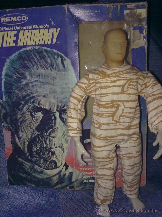 Figuras y Muñecos Mego: Era Mego - Casa Remco - La Momia (1980)..En caja.. Abraza a sus víctimas al pulsarle atrás -raro - Foto 2 - 17784686