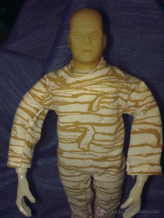 Figuras y Muñecos Mego: Era Mego - Casa Remco - La Momia (1980)..En caja.. Abraza a sus víctimas al pulsarle atrás -raro - Foto 3 - 17784686