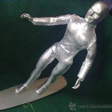 Figuras y Muñecos Mego: JOYA 10!!- ARTESANÍA MEGO MARVEL-SILVER SURFER-CUSTOM EXTREMA RAREZA.BELLEZA IRREPETIBLE.OBRA D ARTE. Lote 18371777