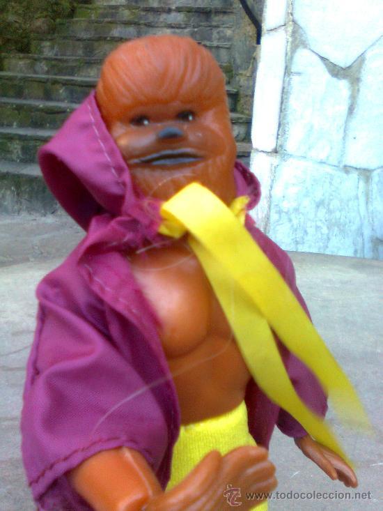 Figuras y Muñecos Mego: ¡ Joya 10 ! - Era Mego - Casa tomland - Serie Star Raiders - Flash (Chewaka) -1977- - Foto 2 - 166120764