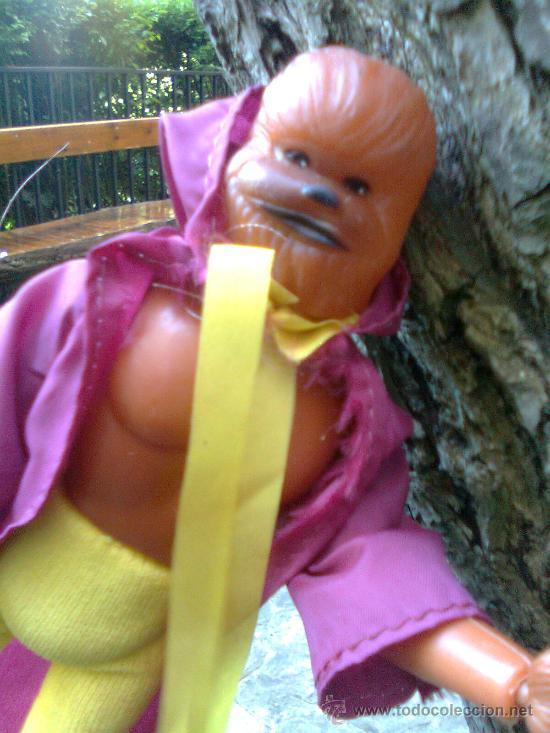 Figuras y Muñecos Mego: ¡ Joya 10 ! - Era Mego - Casa tomland - Serie Star Raiders - Flash (Chewaka) -1977- - Foto 3 - 166120764